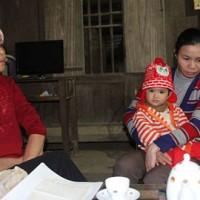 Từ khi đi xuất khẩu lao động sang Saudi Arabia trở về nước, gia đình chị Tô Thị Dung lâm vào cảnh nợ nần chồng chất.
