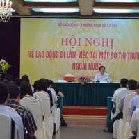 Hội nghị xuất khẩu lao động