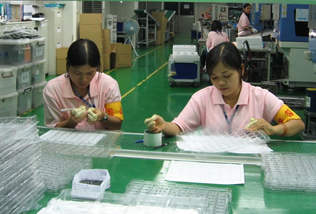 tuyển lao động đài loan làm sản xuất nhựa