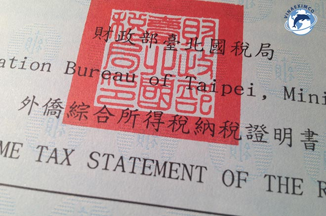 Đóng thuế tại Đài Loan