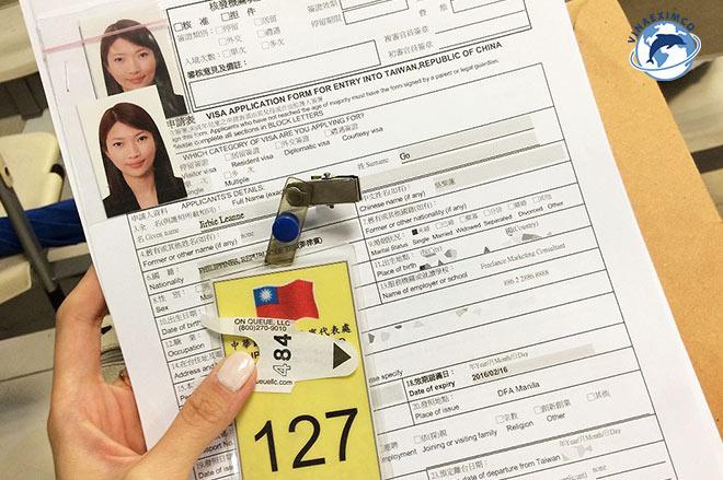 Những giấy tờ cần thiết để xin Visa làm việc tại Đài Loan