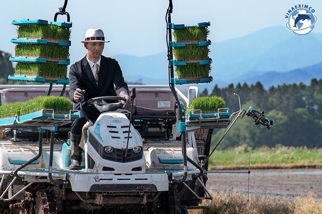kỹ sư nông nghiệp Nhật Bản