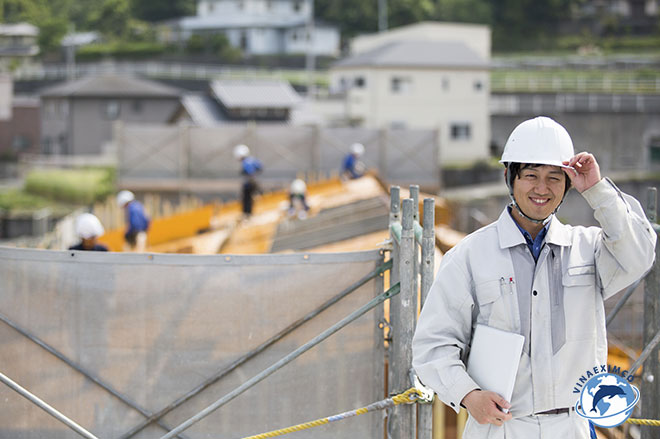 Kỹ sư xây dựng làm việc tại Nhật Bản