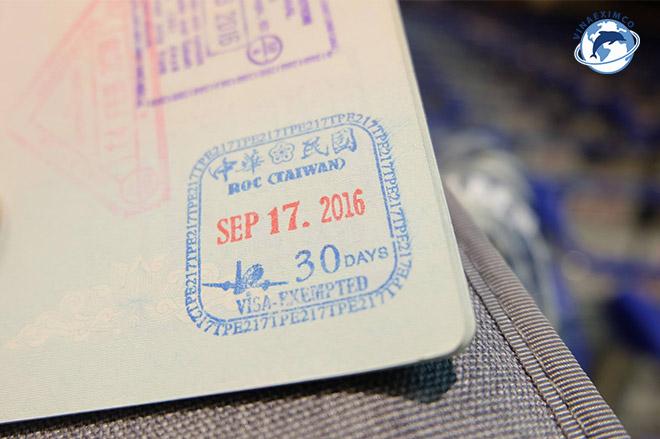 Xin VISA làm việc tại Đài Loan