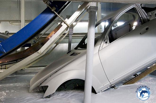 Kỹ sư hóa làm việc tại Nhật Bản - sơn ô tô