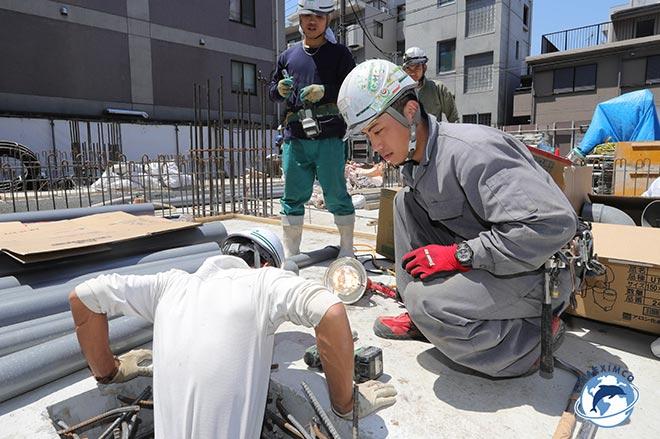 Tìm việc làm ở Đài Loan công nhân xây dựng