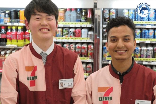 Việc làm thêm Nhật Bản - Làm việc tại siêu thị