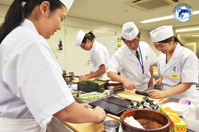 Việc làm thêm Nhật Bản - Nấu ăn