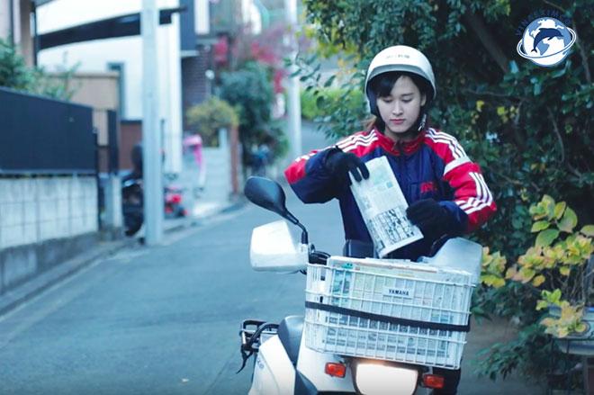 Việc làm thêm Nhật Bản - Phát báo