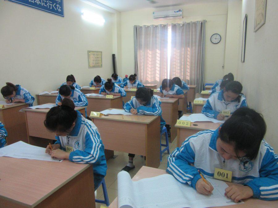 Quy trình thi tại Vinaeximco