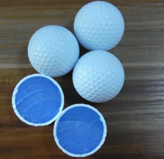 đơn hàng sản xuất bóng golf đài loan