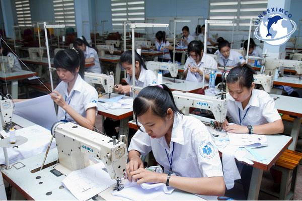Xuất khẩu lao động Nhật Bản nghành may mặc