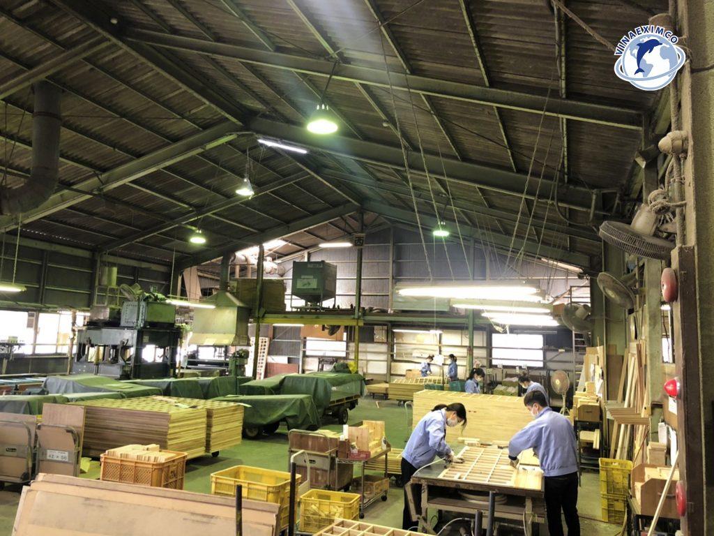 Hình ảnh làm việc thực tế tại công xưởng của thực tập sinh Nhật Bản