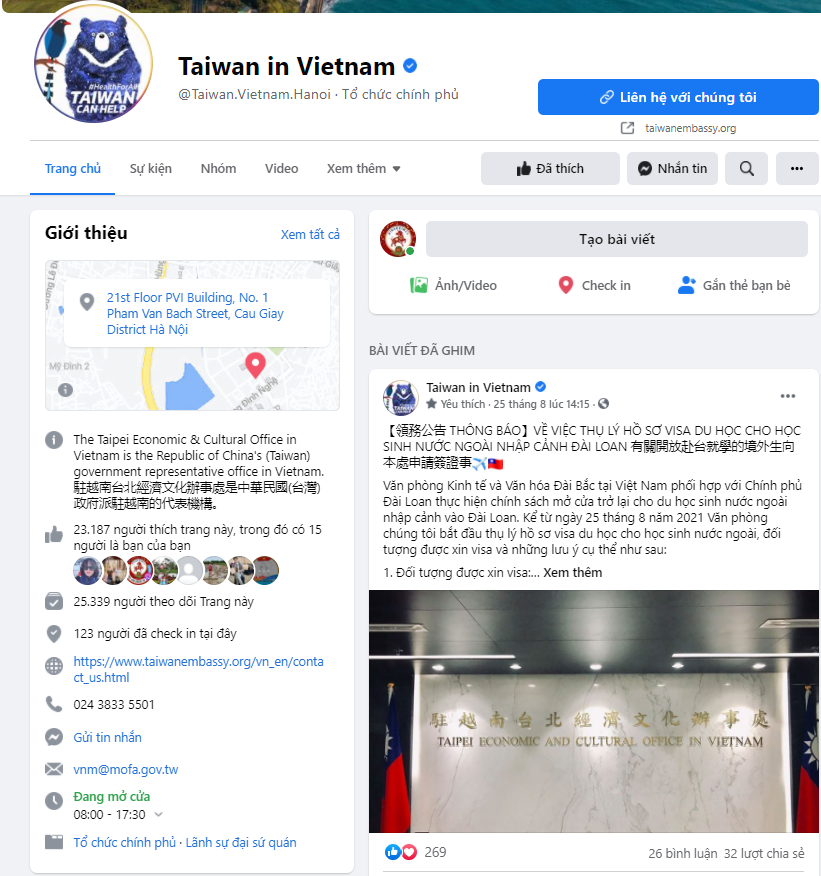 Văn phòng kinh tế và văn hóa Đài Bắc thông báo mở cửa cho du học sinh nước ngoài nhập cảnh vào Đài Loan từ 25/8/2021